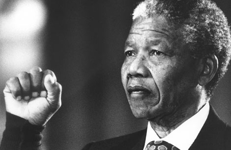 investiture Mandela